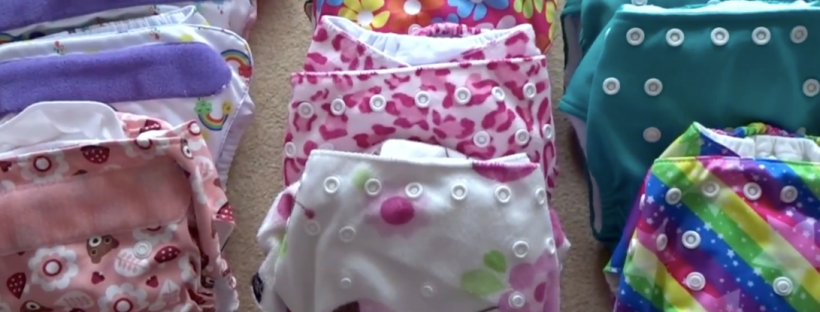 Reusable cloth nappies from tots bots, bambino mio and little lamb, for switching to reusable nappies in real nappy week 2019