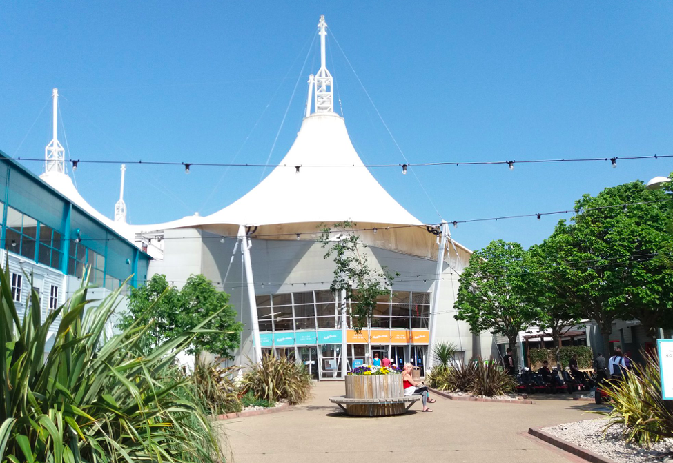 A photo of the Skyline Pavillion at Butlins Minehead